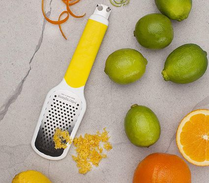 Yellow zest grater