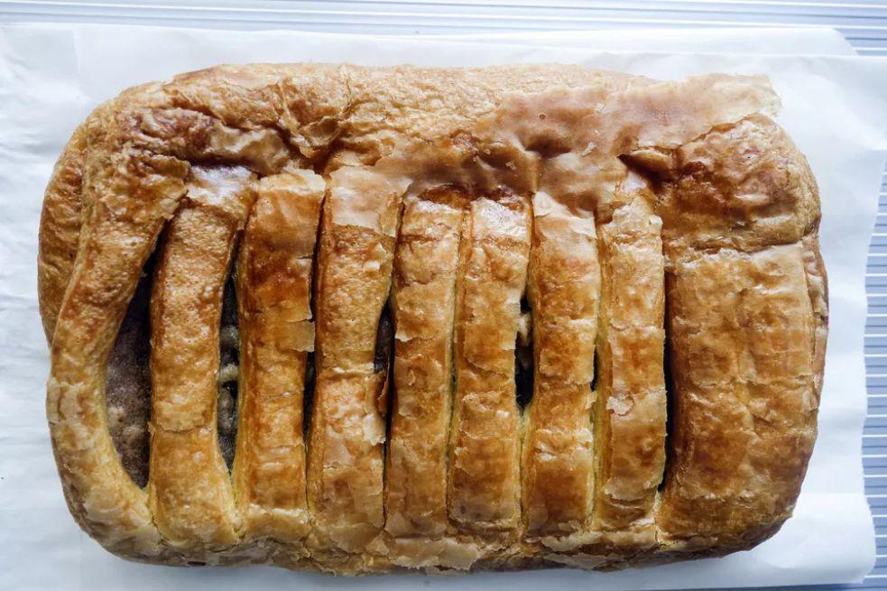 Greek apple cake