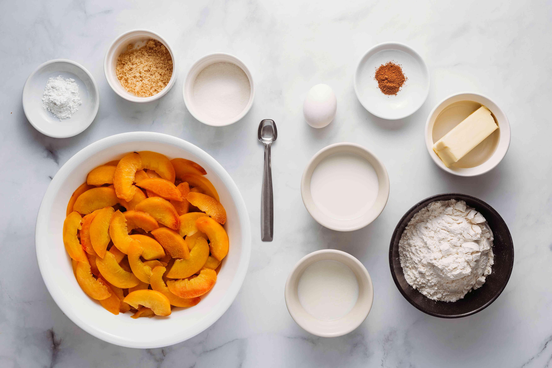 Fresh Peach Slump ingredients