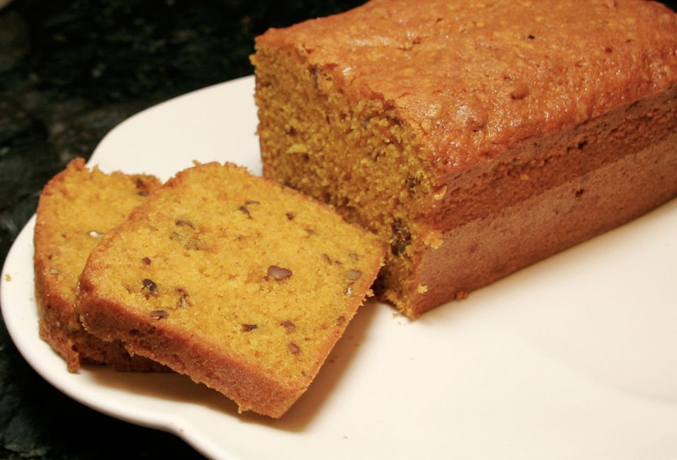Easy Pumpkin Pecan Bread