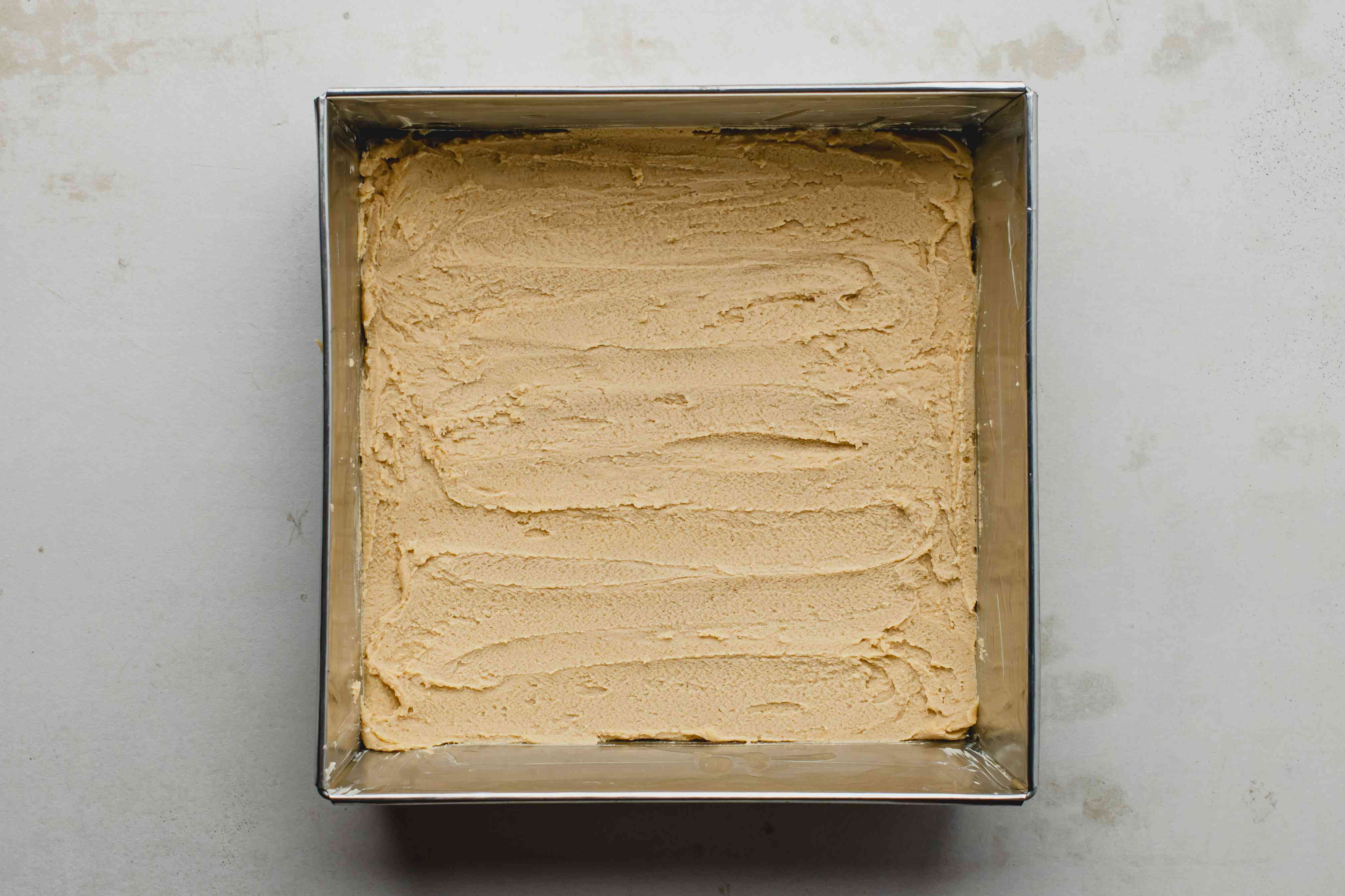 Pat shortbread dough