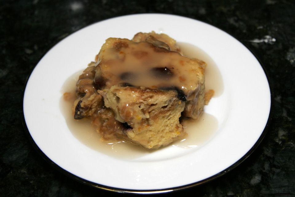 Crock Pot Banana Raisin Bread Pudding