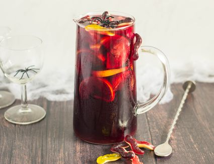 Halloween sangria recipe