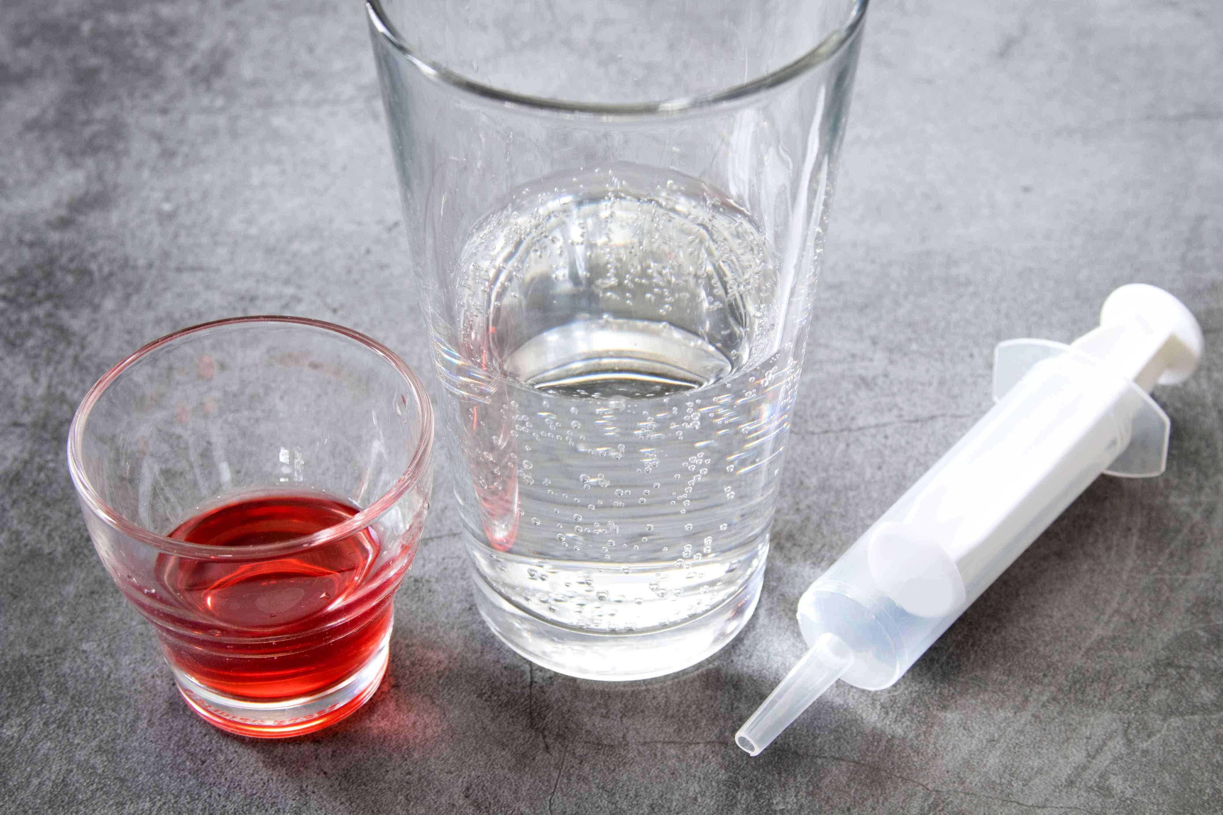 Vodka Cranberry Syringe Shooter