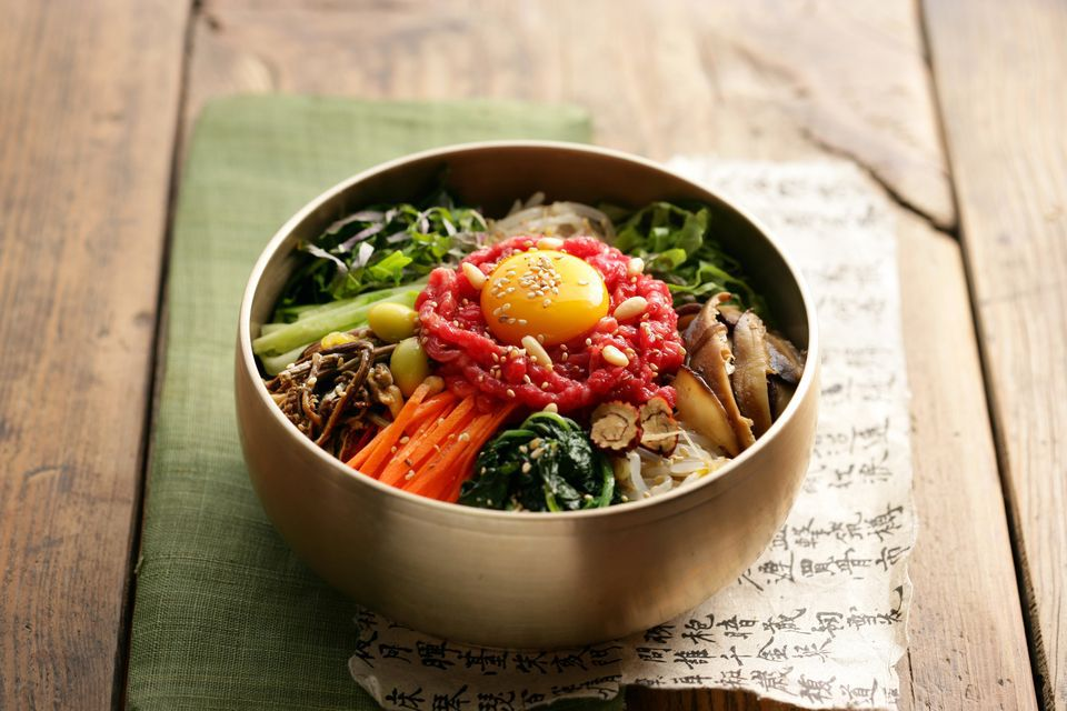korean food bowl