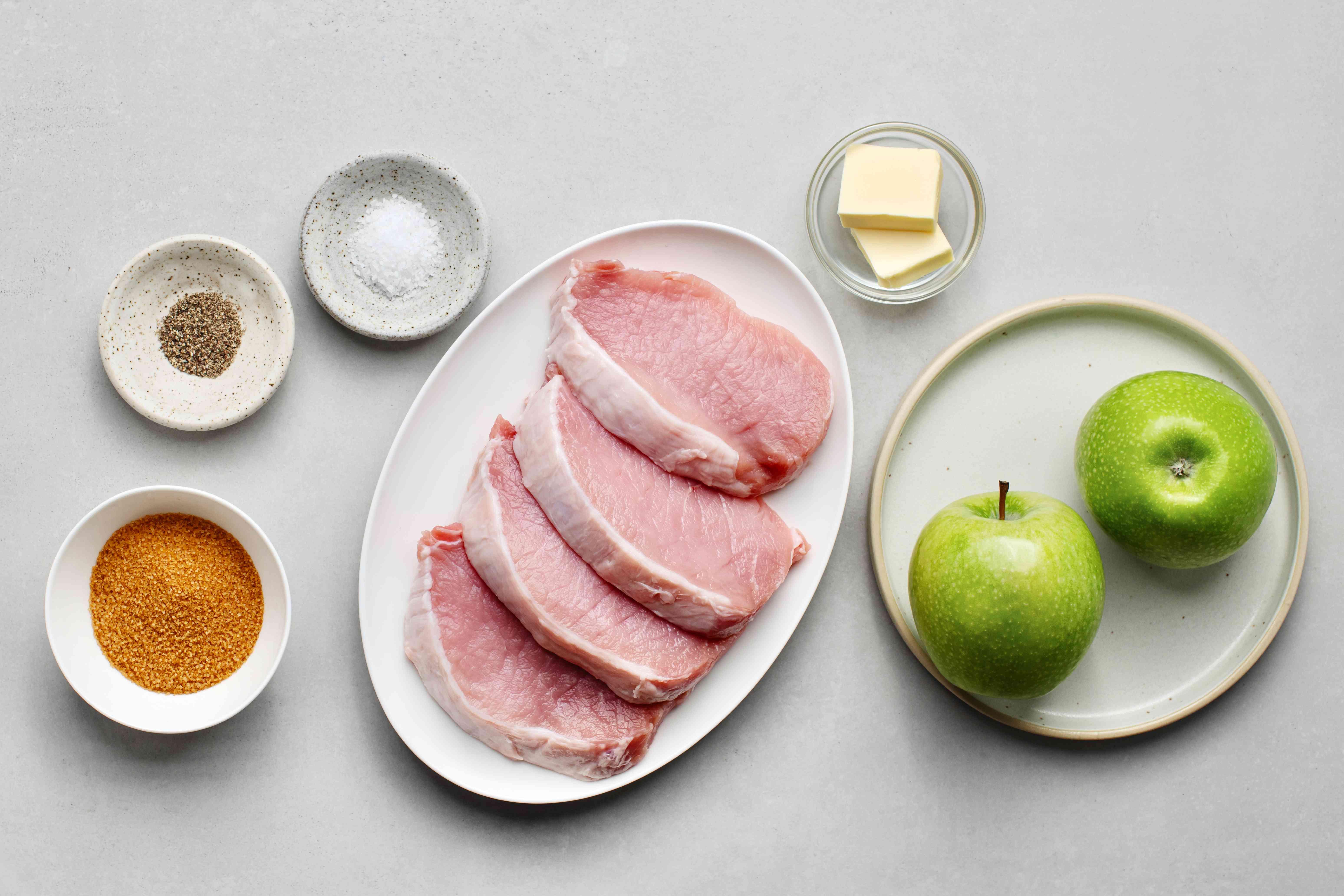 Baked Apple Pork Chops ingredients