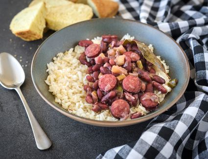 Crock pot red beans and rice recipe