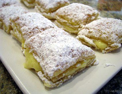 Spanish Cream-Filled Pastries