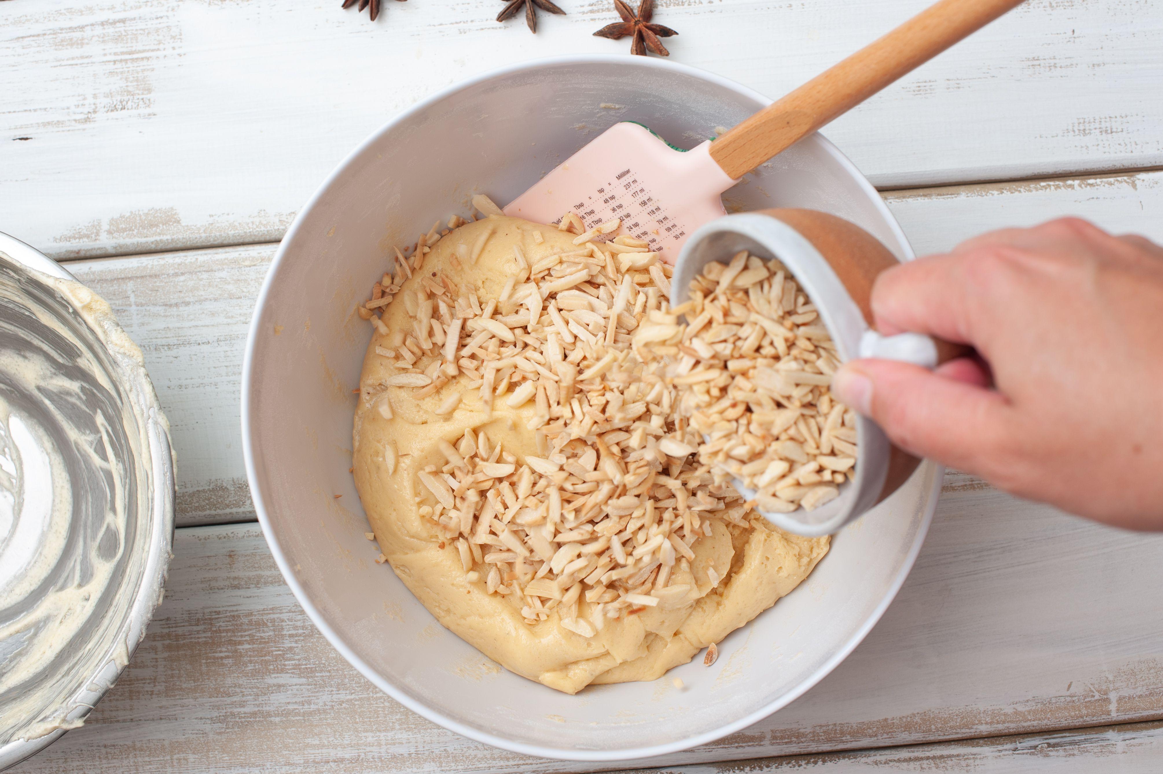 Add almonds