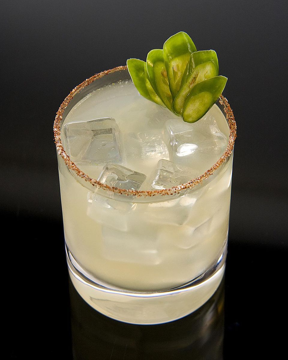The Sweaty Hipster Cocktail - Hornitos Tequila