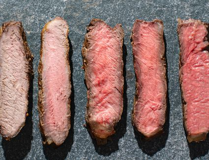 How to tell a steak's doneness