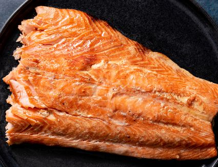 Stove Top Smoked Salmon