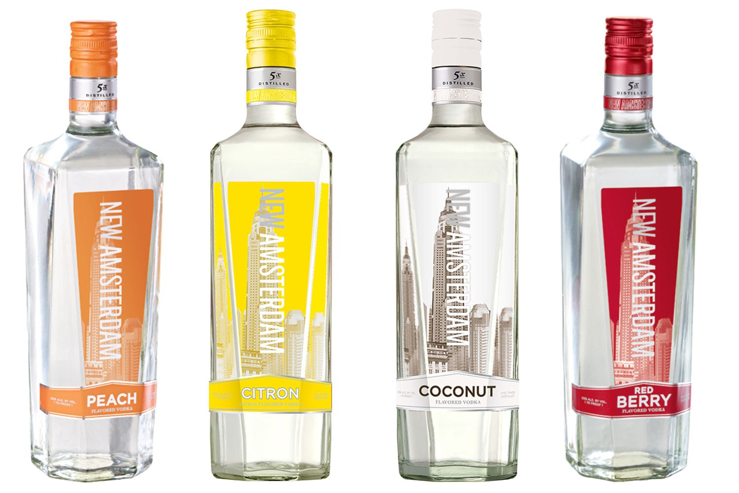 New Amsterdam makes straight-up vodka and flavored vodkas