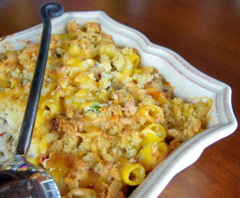 Gluten-Free Classic Tuna Casserole Image and Recipe