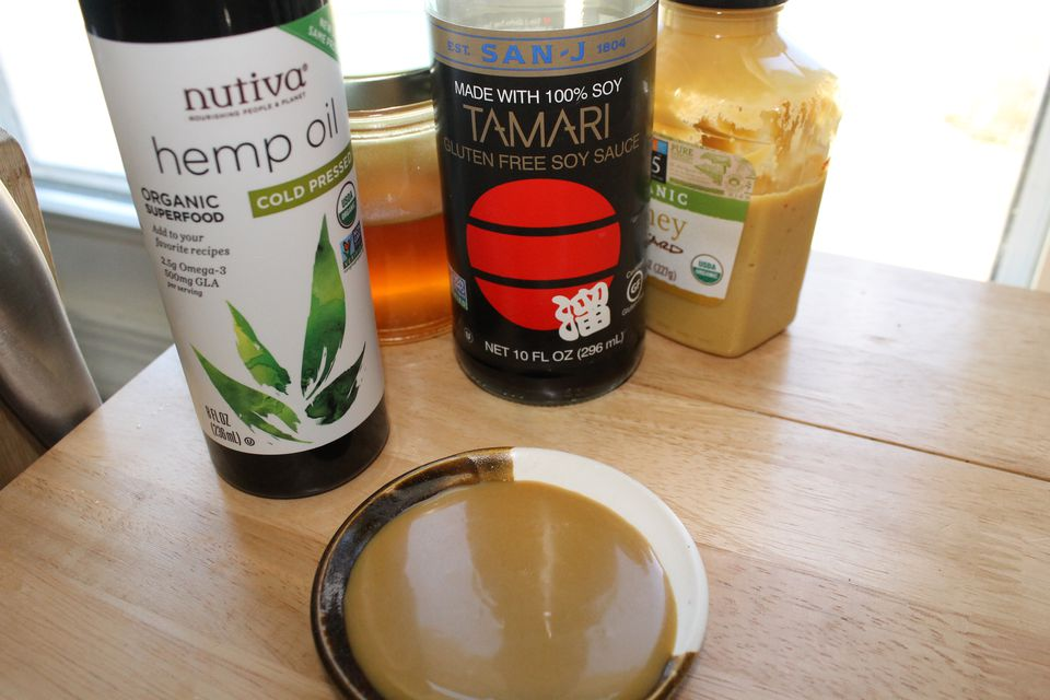 Hemp oil honey mustard salad dressing ingredients