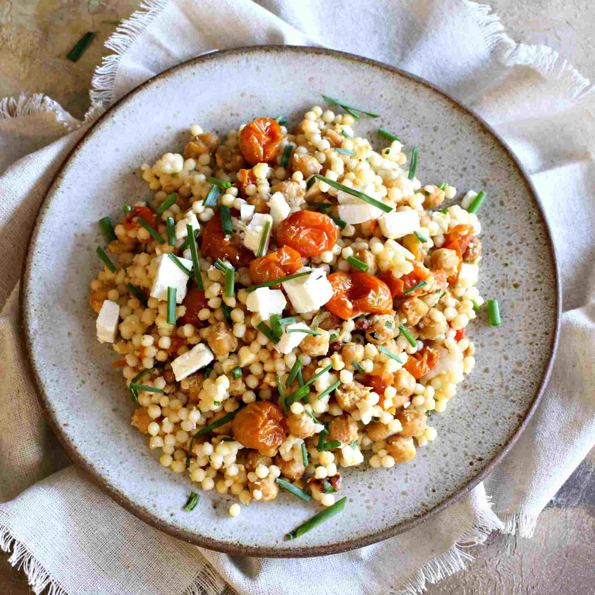 Falafel Spiced Middle Eastern Couscous