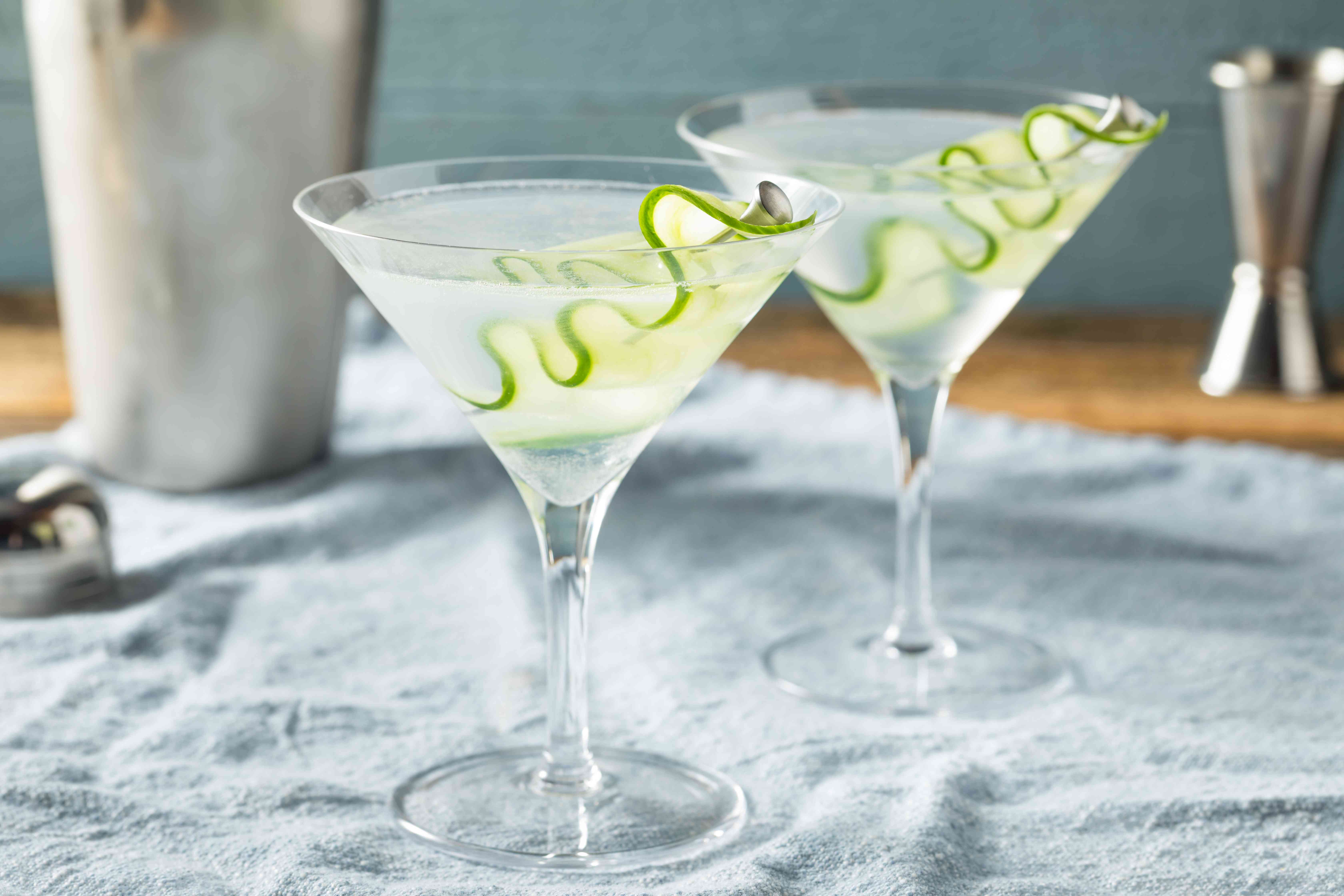 Gin and Ginger Martini
