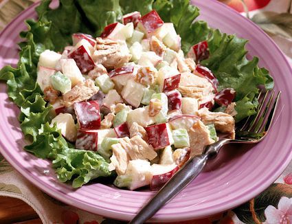 Chicken Salad with Diced Apple