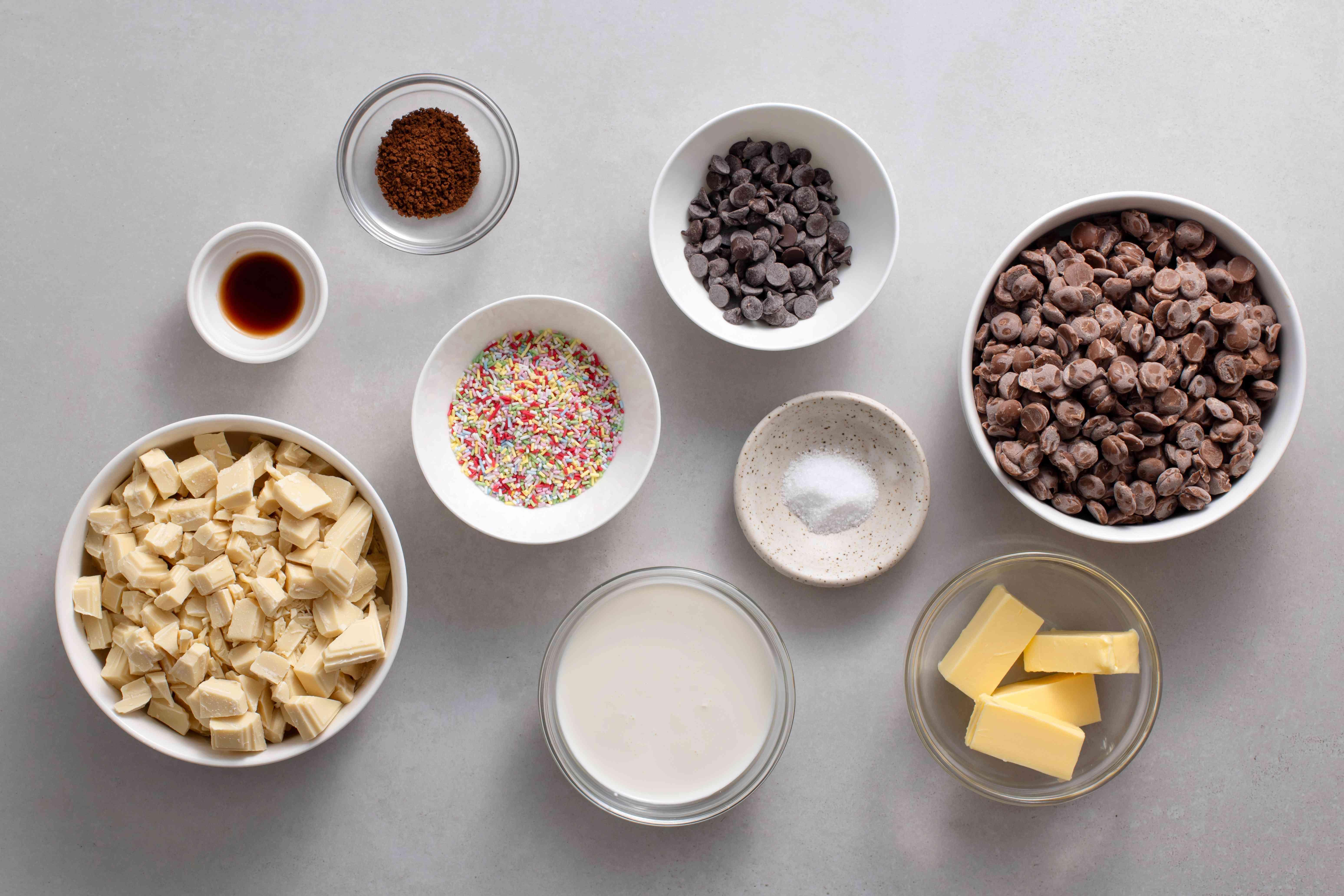 Cappuccino Truffles ingredients