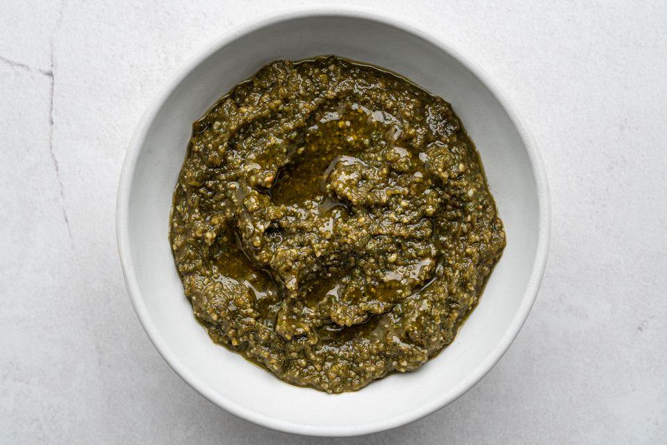 Basil Sunflower Seed Pesto