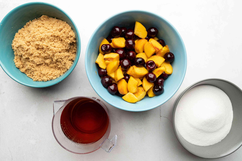 Brandied fruit ingredients