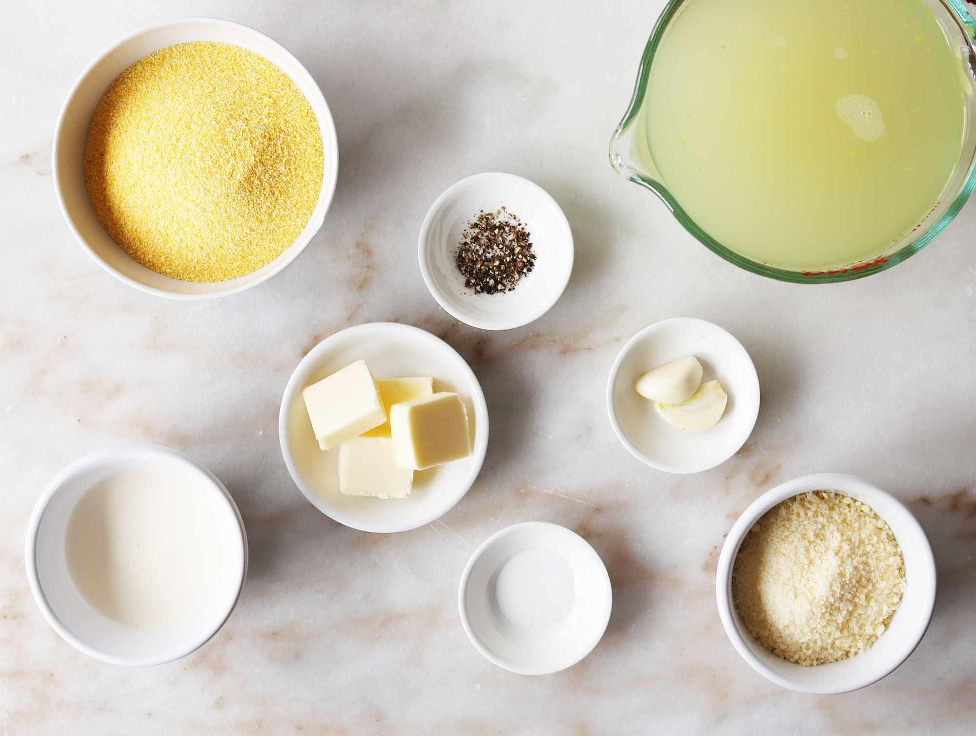 instant pot polenta ingredients