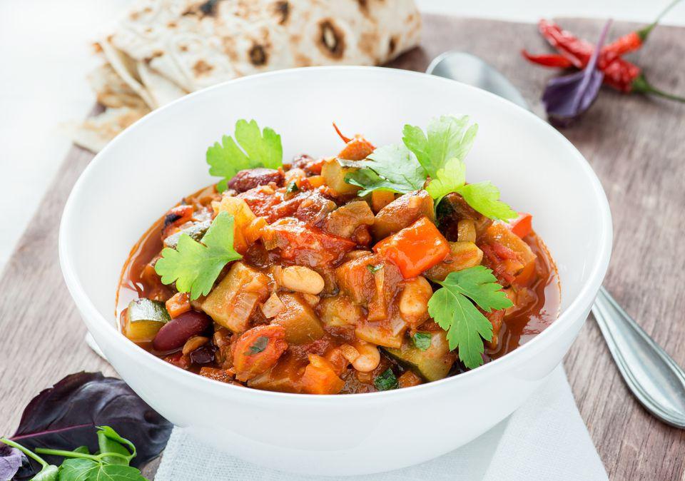 Vegetarian Tofu Chili