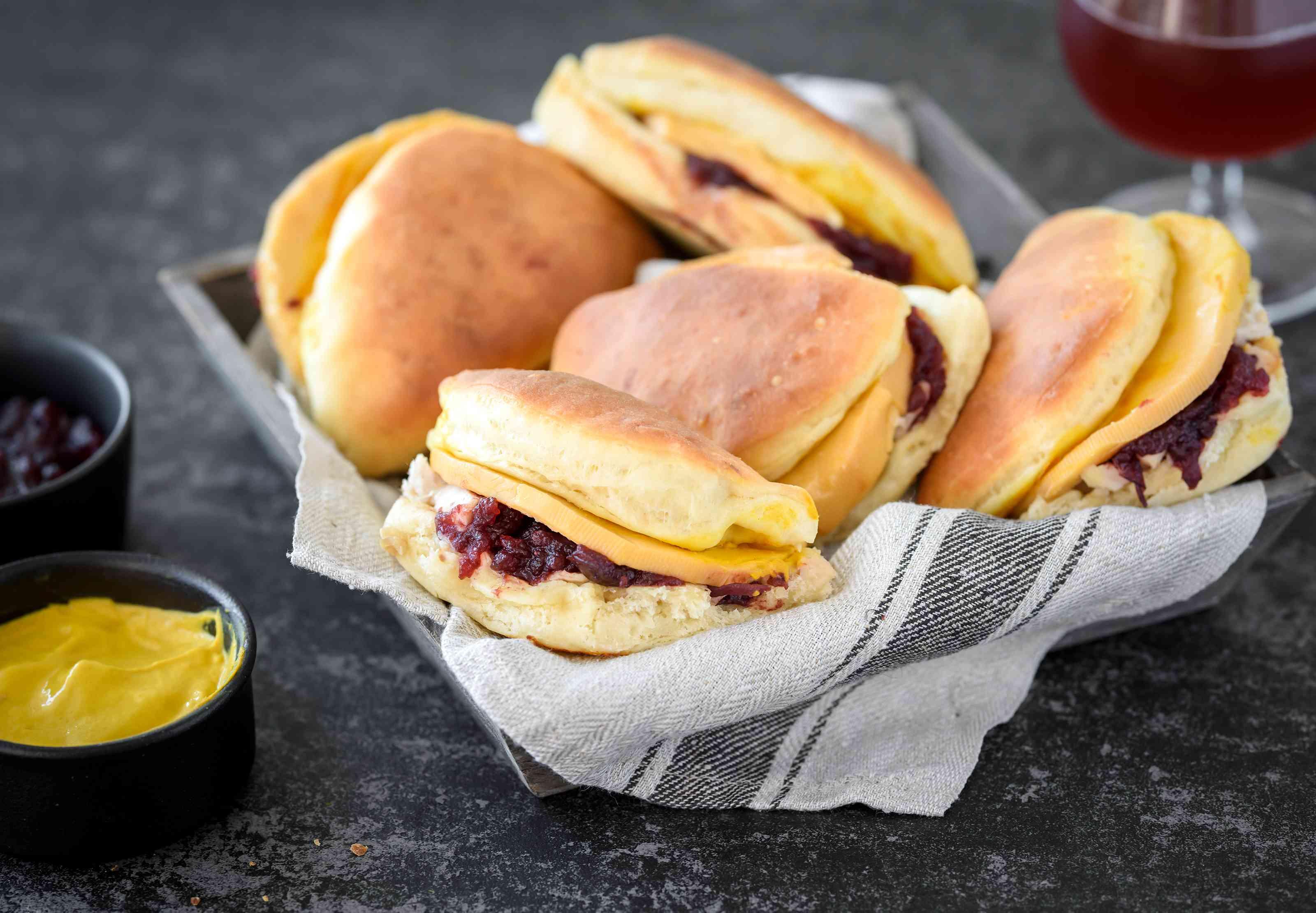 Thanksgiving party buns appetizer recipe