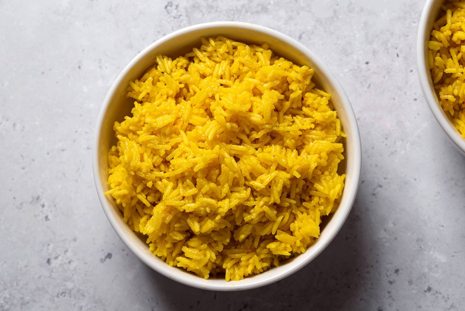 Easy Saffron Rice