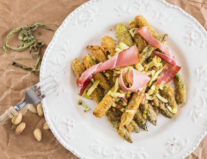 Deep-Fried Asparagus