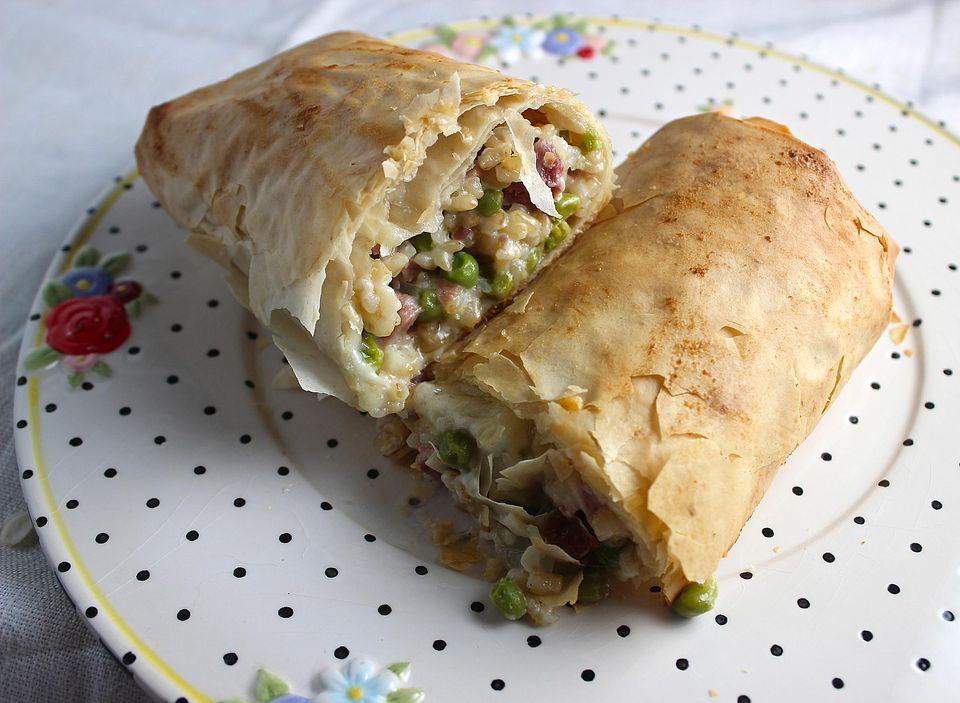 Ham Filo Roll