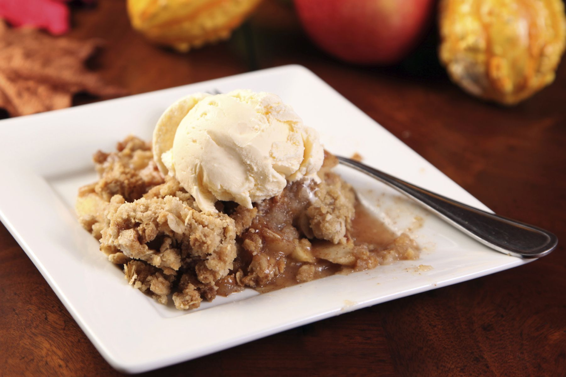 Apple Crisp with Oat Topping Recipe