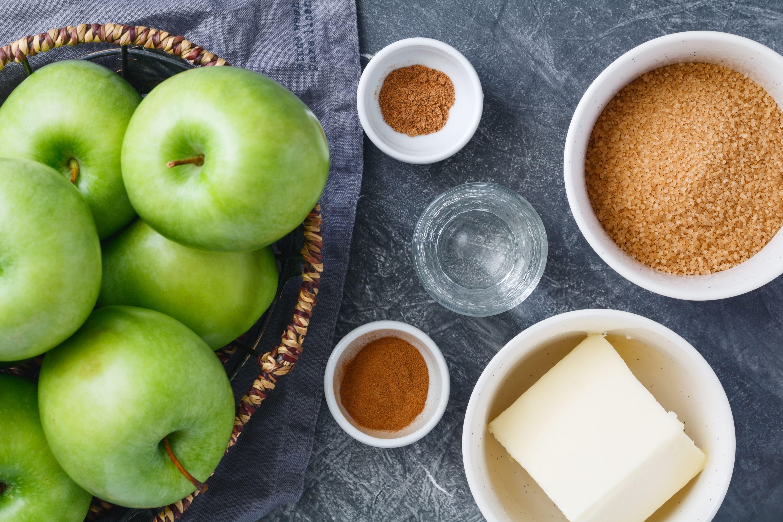Fried Apples With Cinnamon recipe ingredients