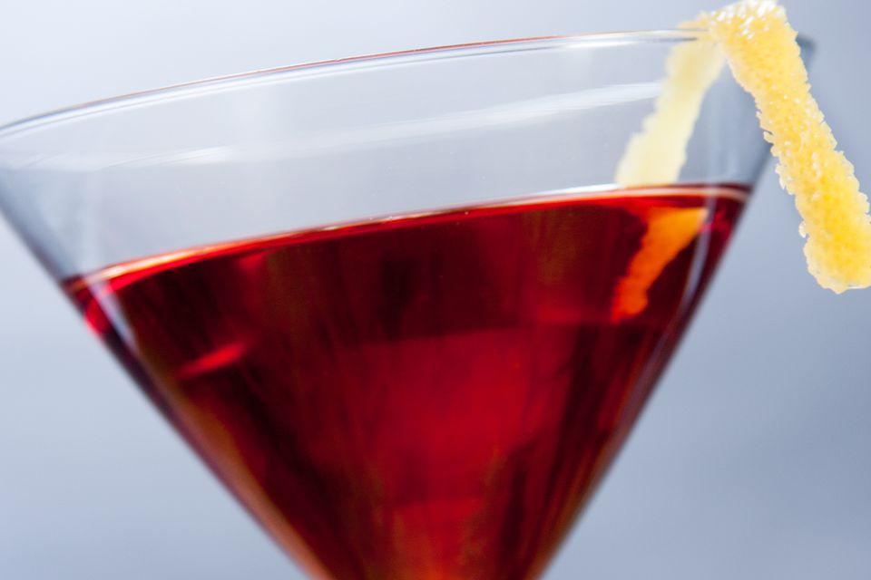 Classic Saratoga Cocktail
