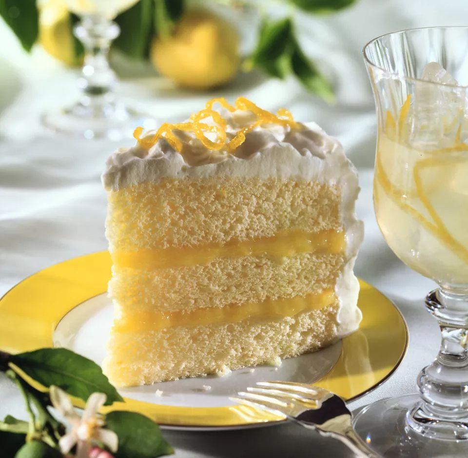 Triple Layer Lemon Cake