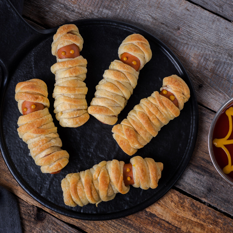 Mummy Hot Dogs Recipe For Halloween