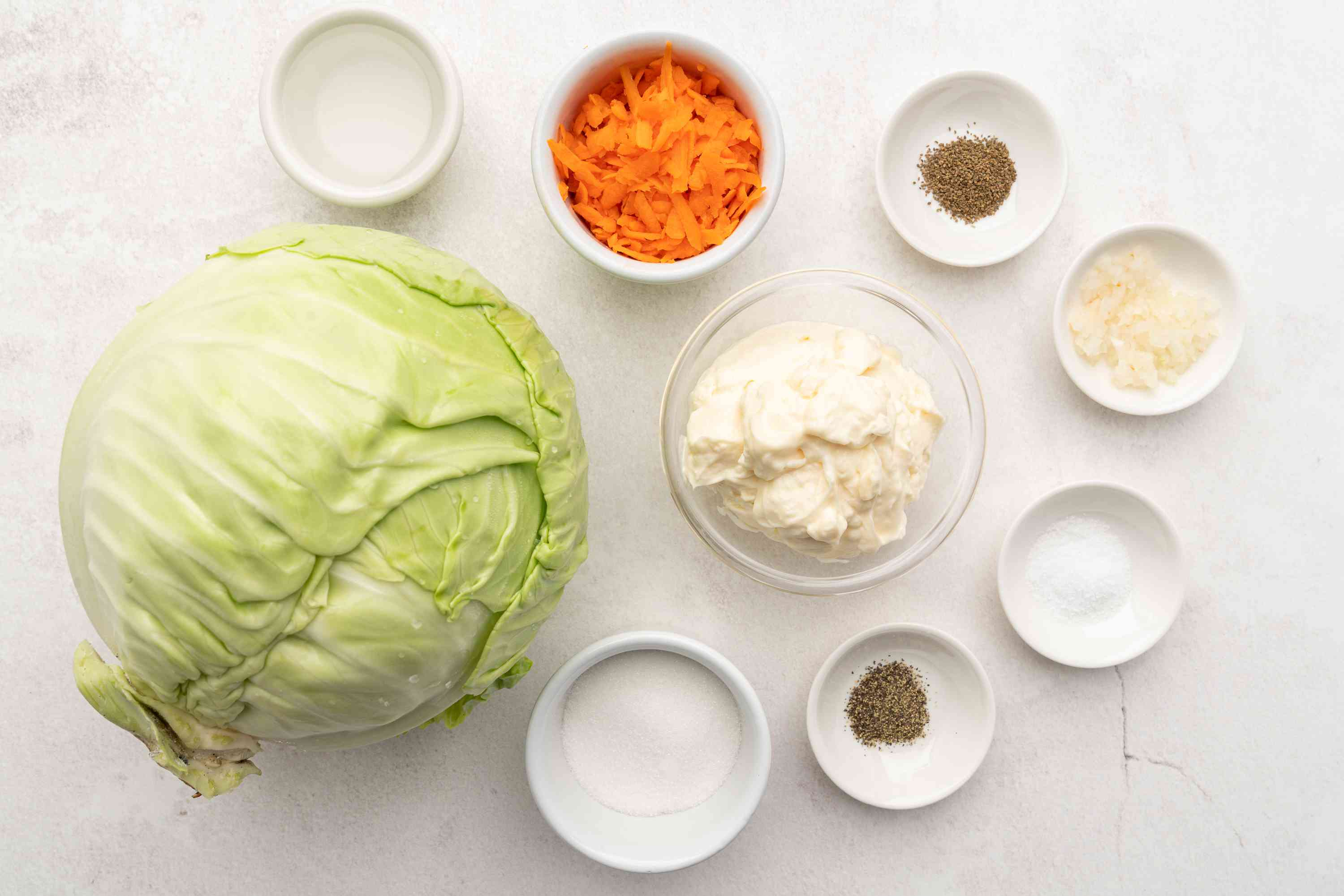 Coleslaw With Creamy Tangy Dressing ingredients