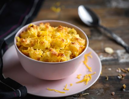 Classic baked mac and cheese