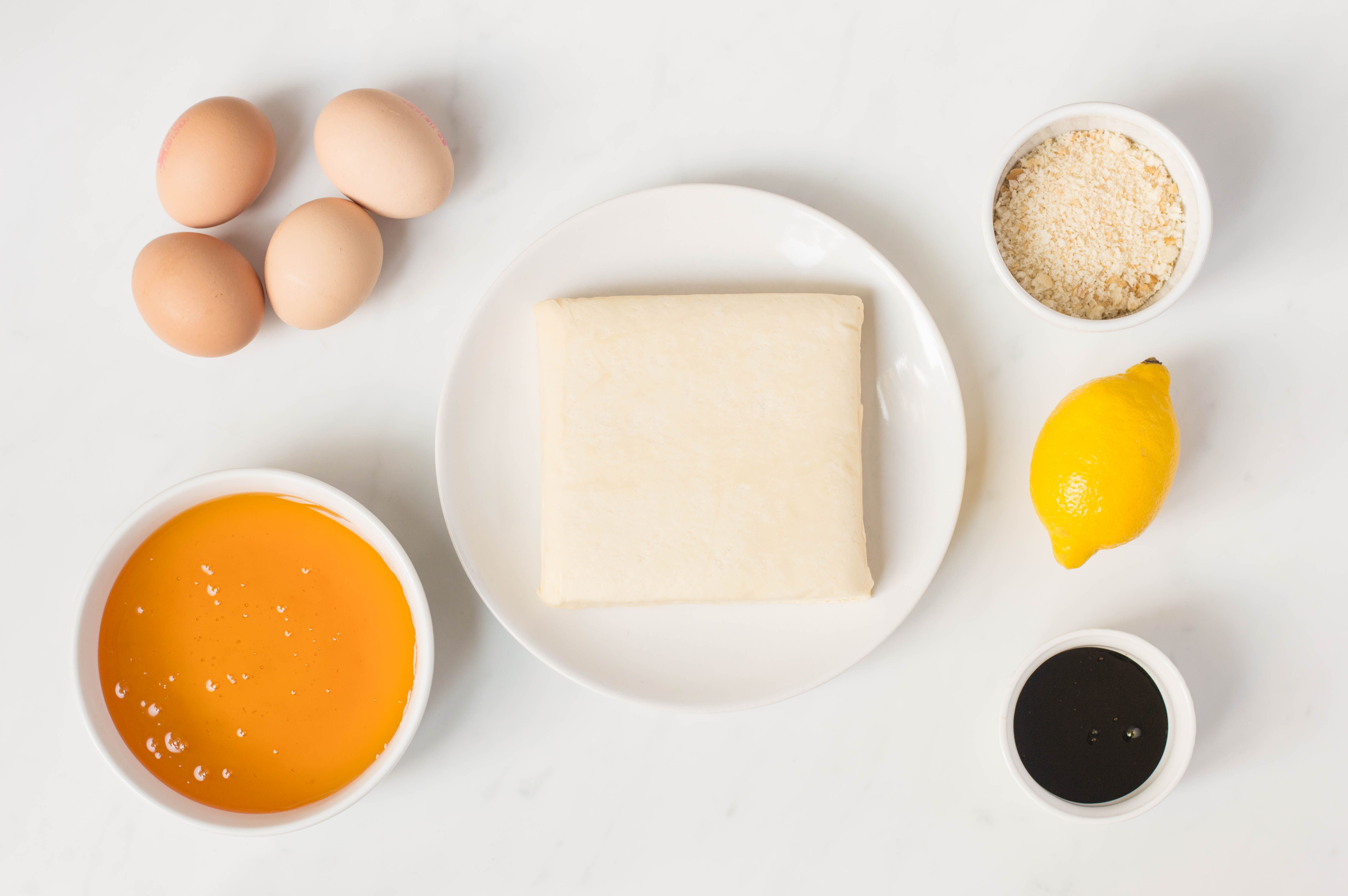 Treacle Tart Recipe ingredients