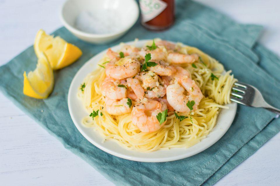Easy Scampi Sauce for Shrimp