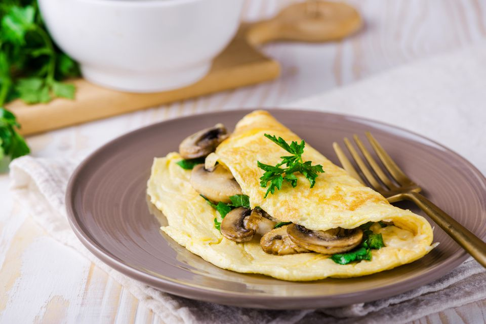 Perfect quick omelet