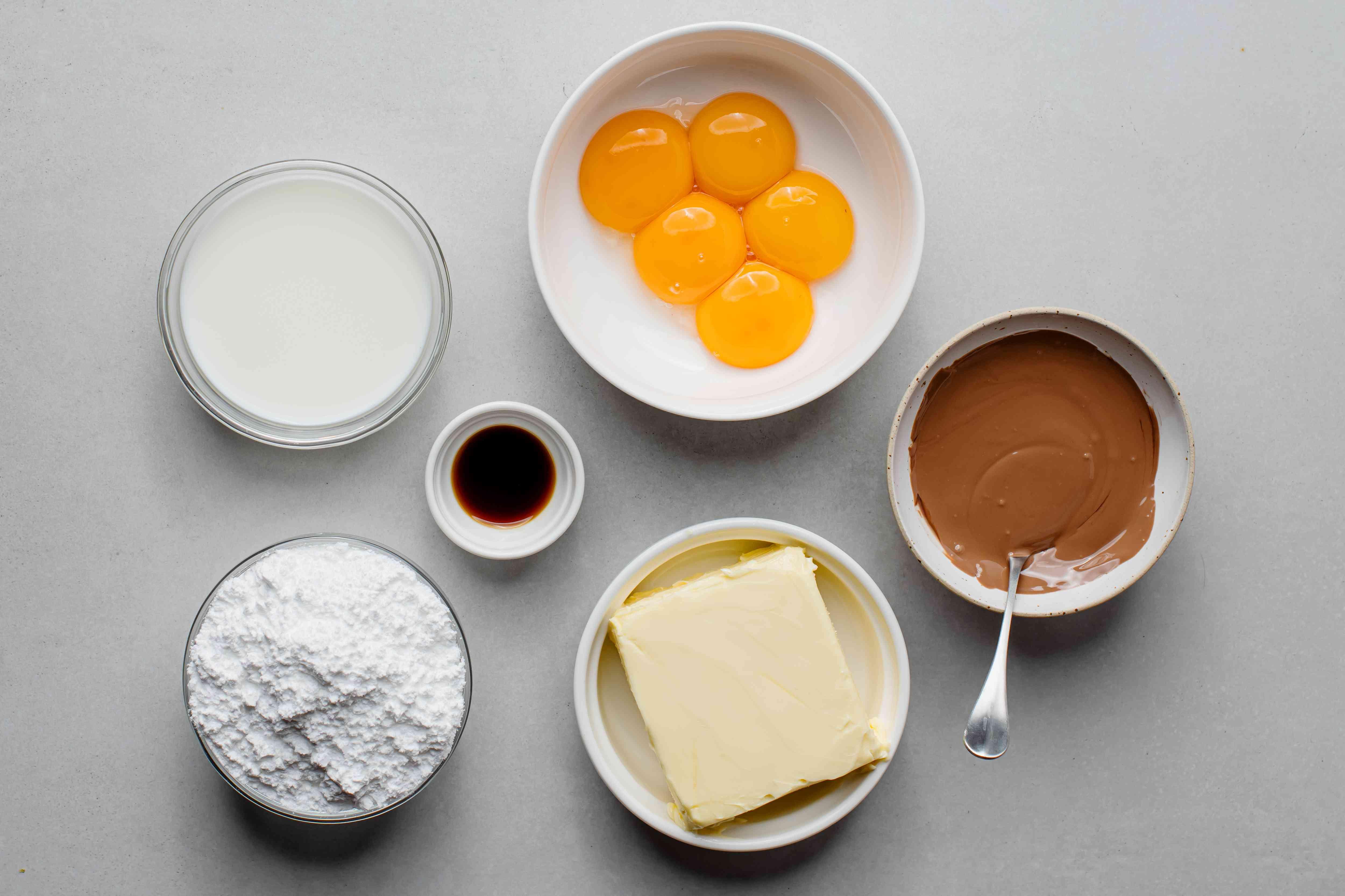 chocolate buttercream ingredients