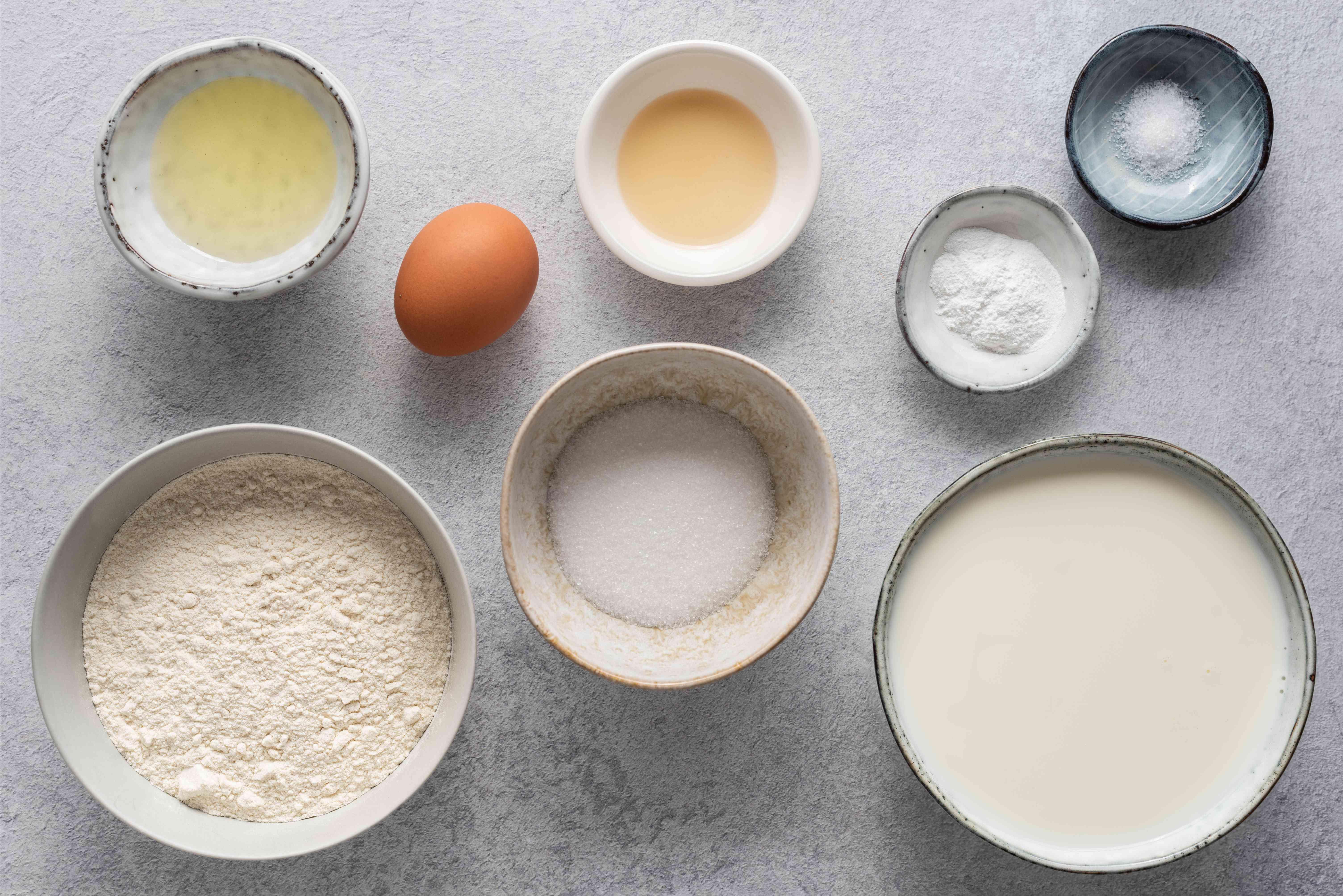 Basic Low-Fat Pancakes ingredients