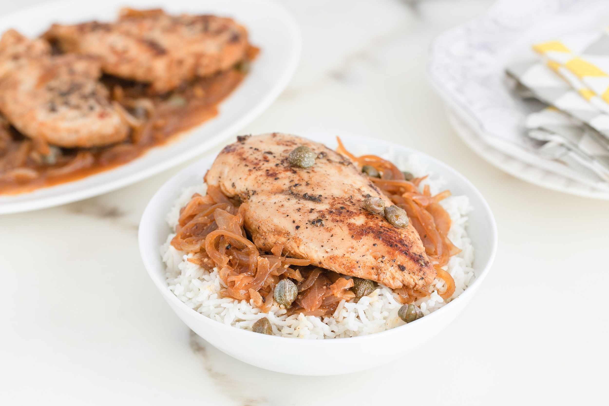 Pollo en Escabeche Recipe