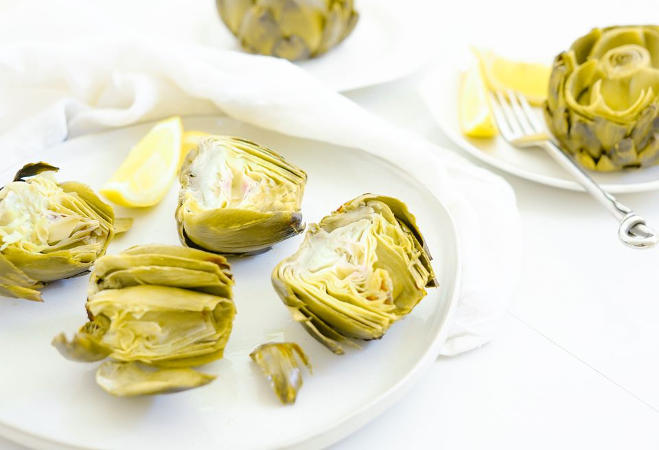 Simple Roasted Artichoke Recipe