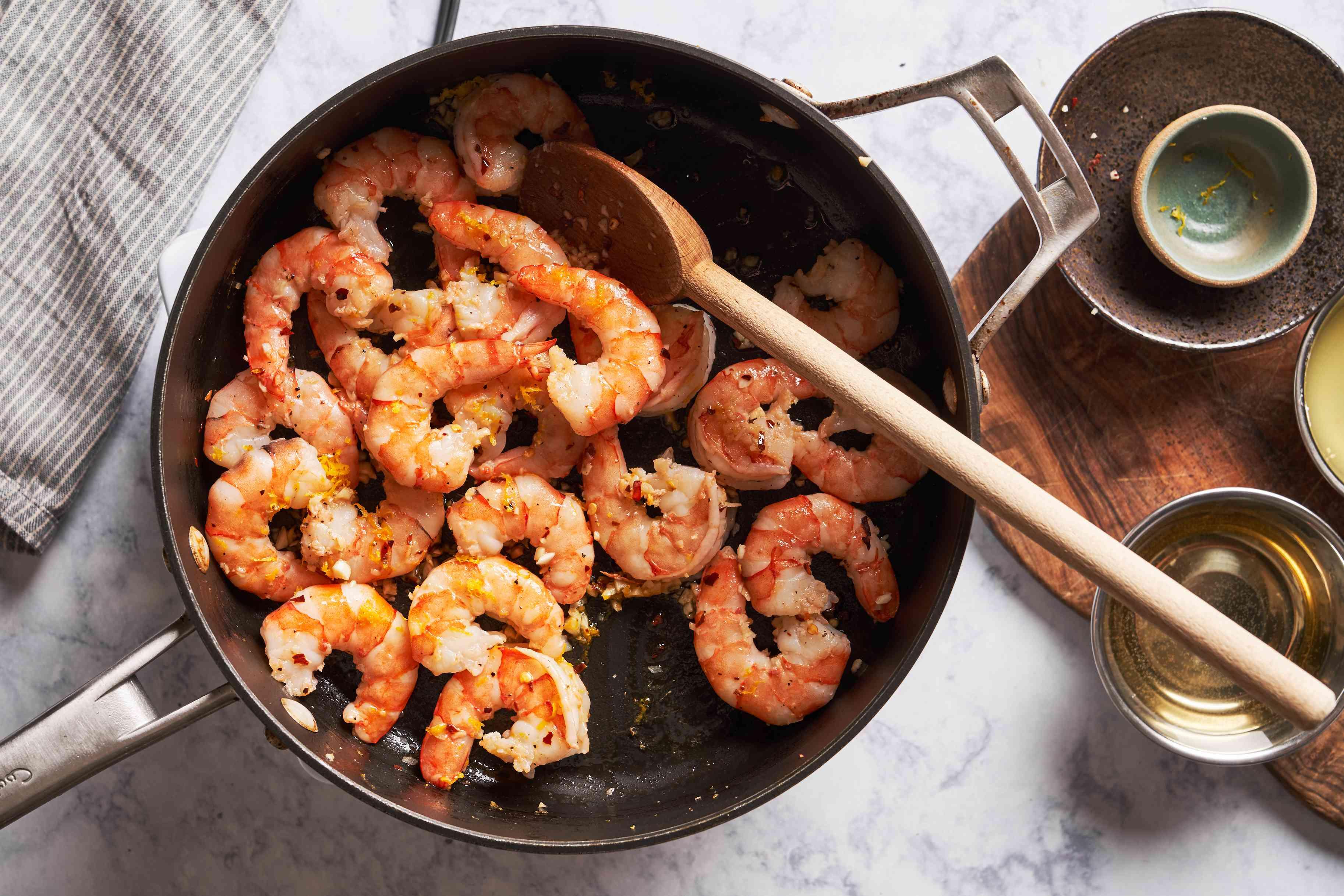 Turn shrimp