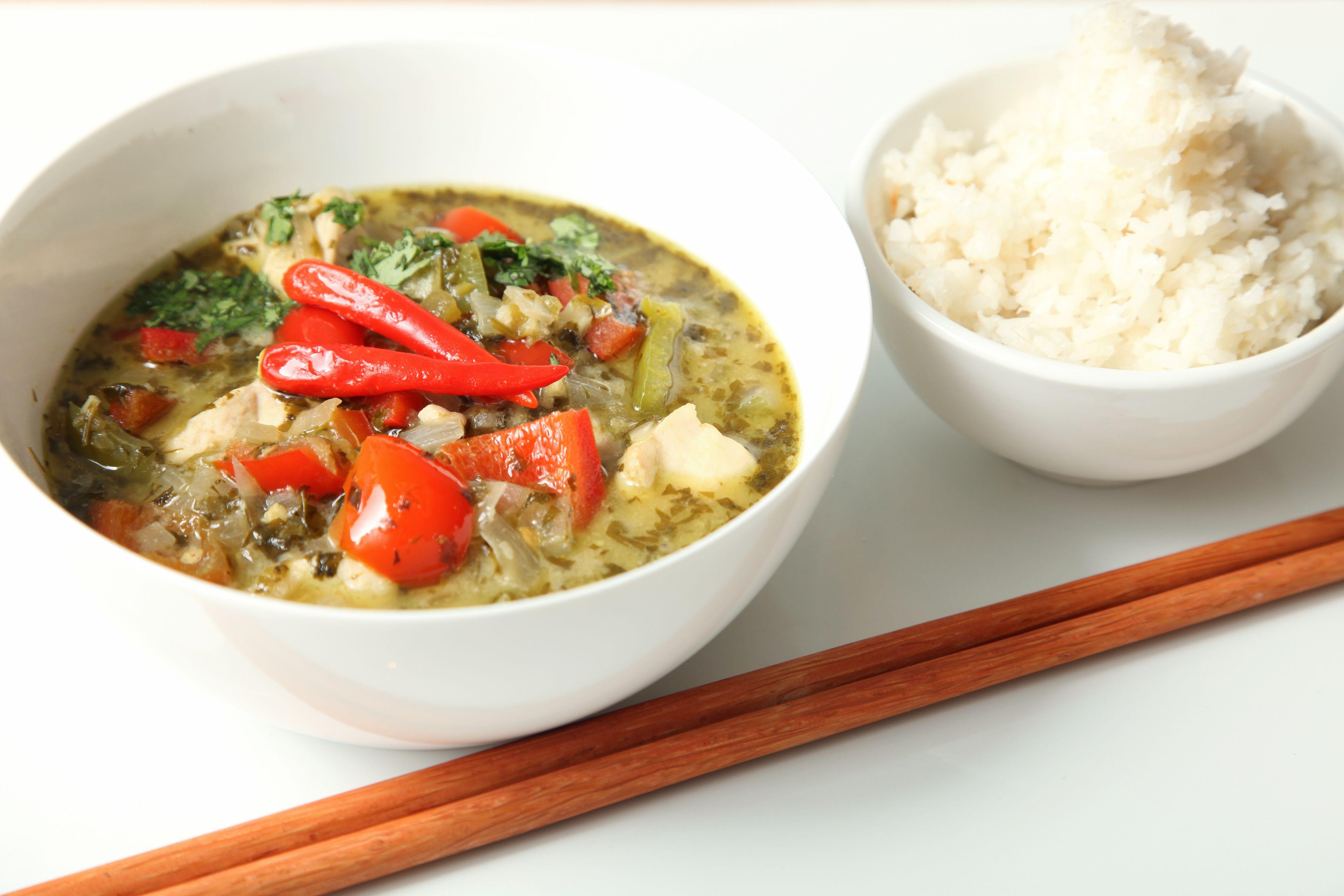 Thai Lime Leaf Green Curry