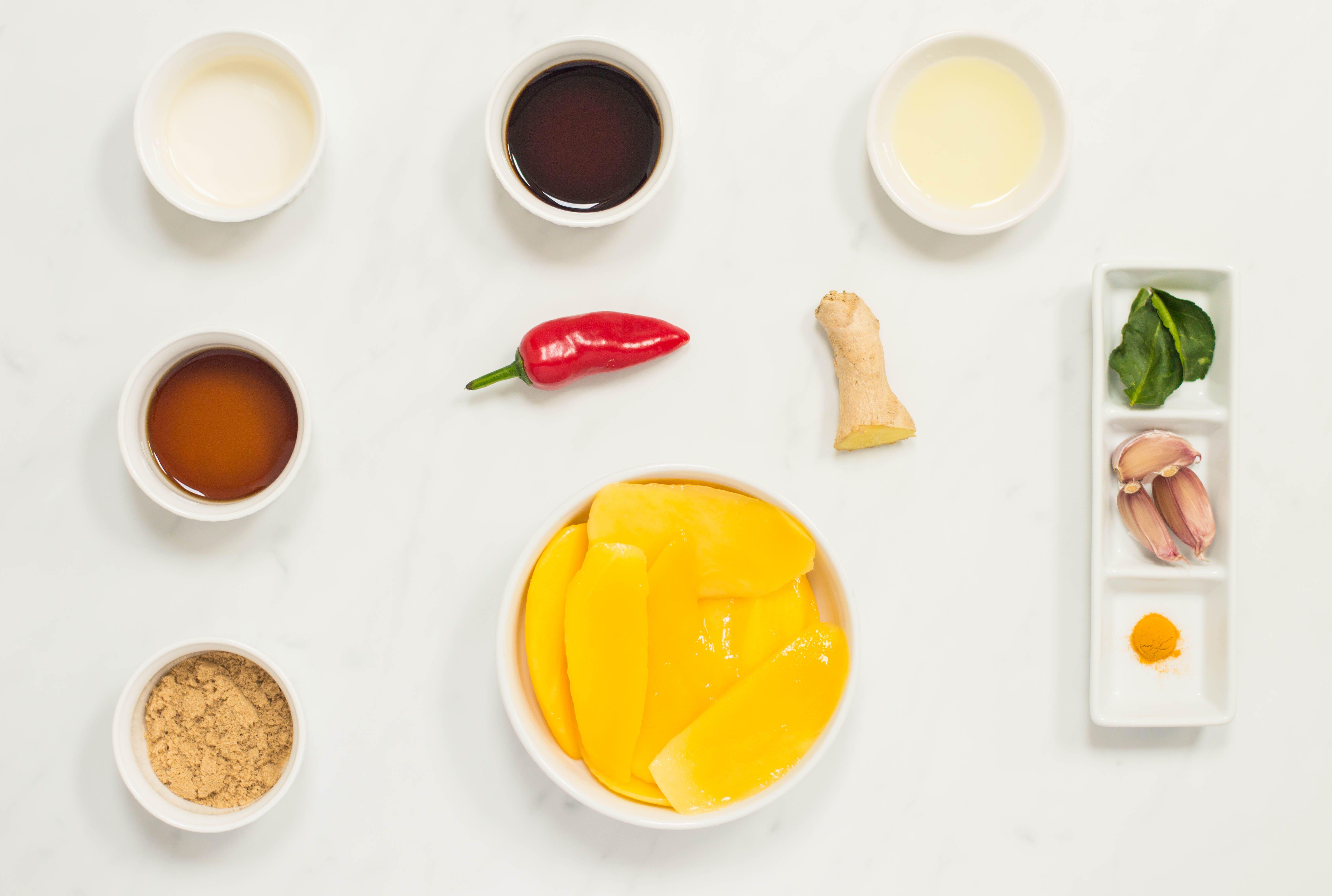 Thai mango chicken sauce ingredients