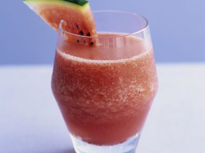 Watermelon With Ginger and Lime Smoothie Recipe