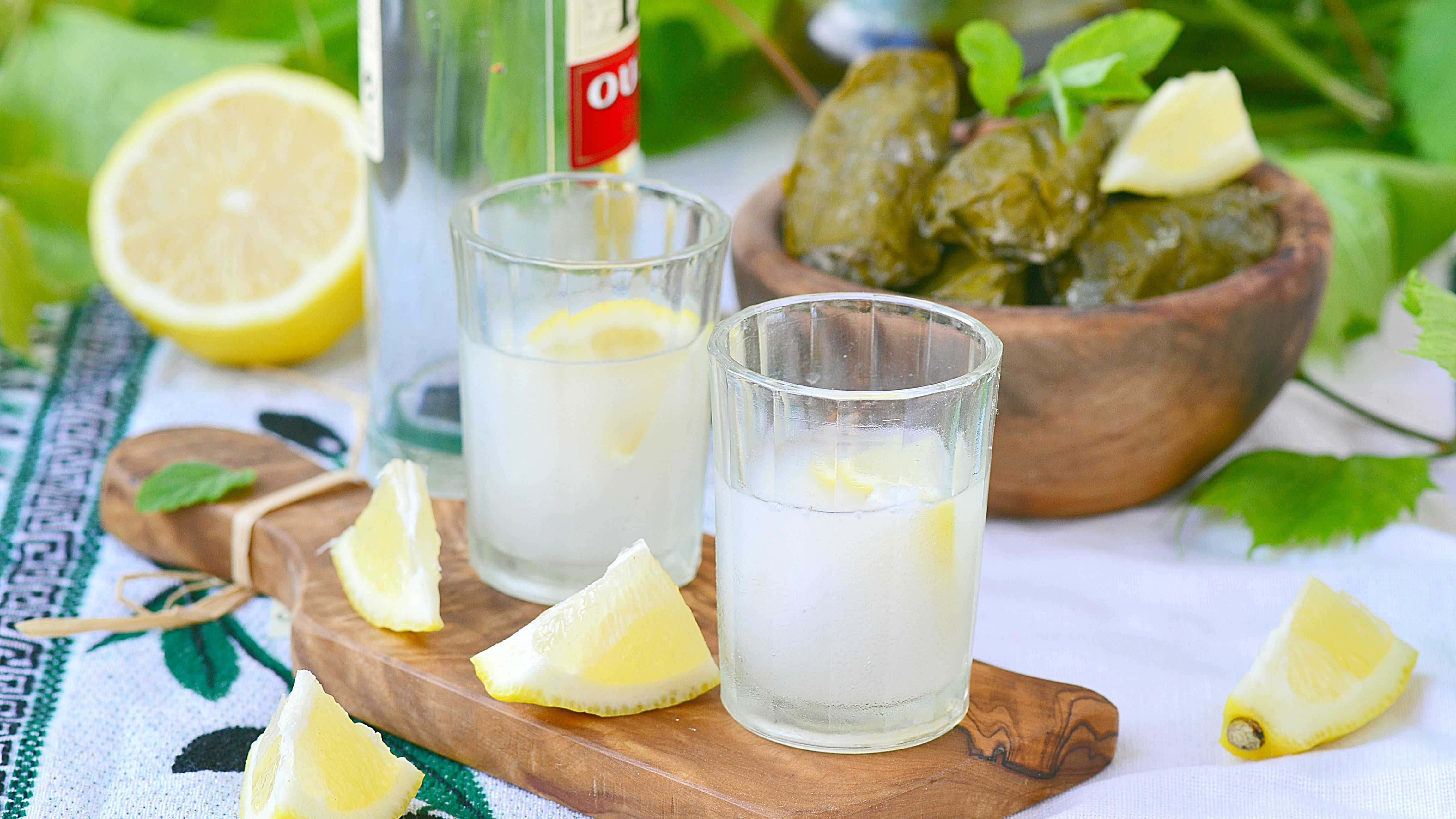 The Best Way to Drink Greek Ouzo